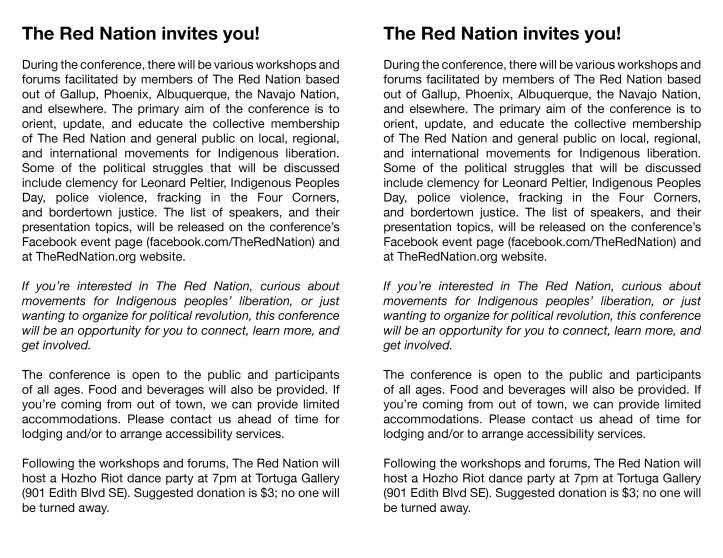 2016-8-13 - trn - native liberation conference - flyer2